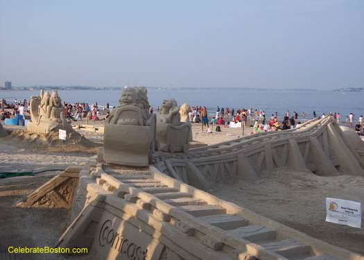 New England Sand Sculpture Contest
