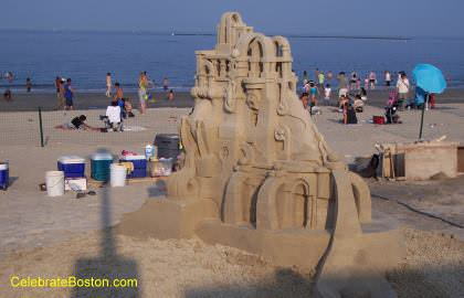A Unique Sand Castle
