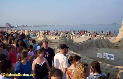 Revere Beach Crowd
