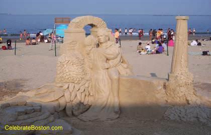 A Sandy Embrace