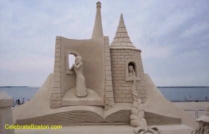 Rapunzel Collective Sand Sculpture