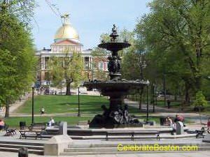 Brewer Fountain Boston Common