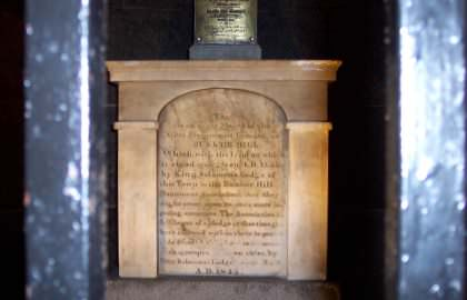 Original Masonic Monument