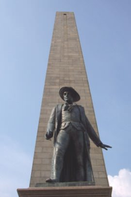 Colonel Prescott Statue