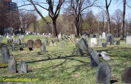 Central Burying Ground Looking West