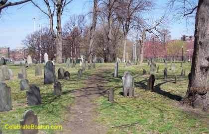 Central Burying Ground Main Walkway