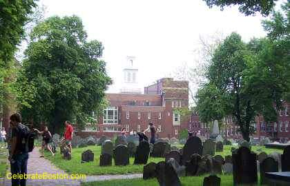 Copp&#39;s Hill Looking Toward Old North Church