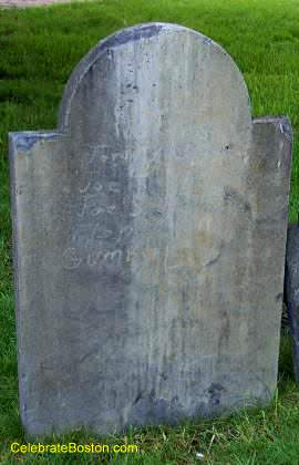 A Vandalized Gravestone