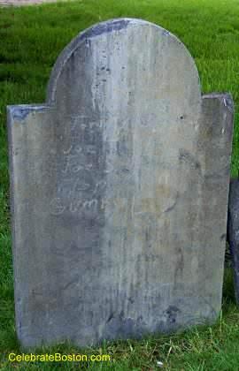 A Vandalized Gravestone