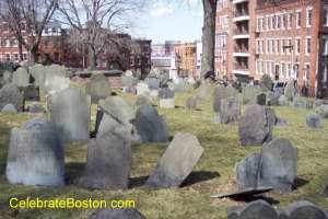 Copp&#39;s Hill Burying Ground Boston