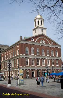 Faneuil Hall Front, Facing Quincy Market