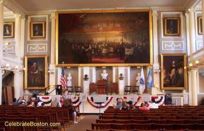 Faneuil Hall Interior