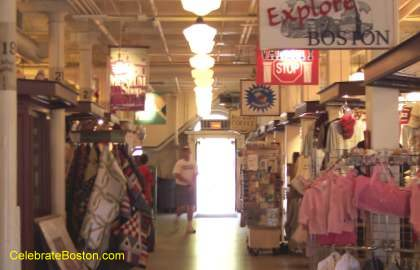 Faneuil Hall First Floor Shops
