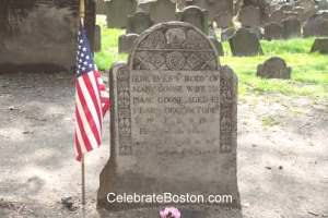 Mother Goose Grave in Boston