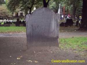 Benjamin Woodbridge Grave, Granary Burying Ground, Victim Of A Famous Duel