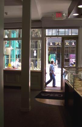 Old Corner Shop Interior
