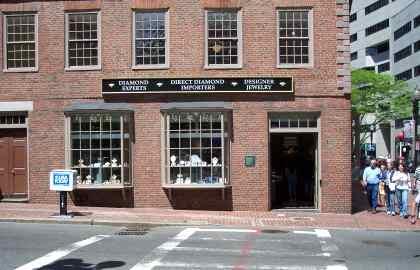 School Street Store Front
