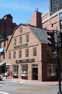 Old Corner Bookstore Building Boston