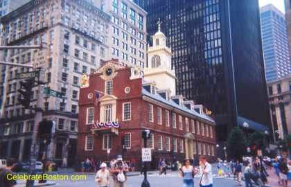 Old State House East Face