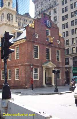 Old State House West Face