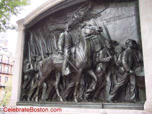 Robert Gould Shaw & Mass 54th Memorial