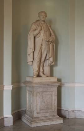 Governor Andrew Statue