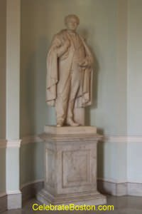 John Andrew Statue, Massachusetts State House