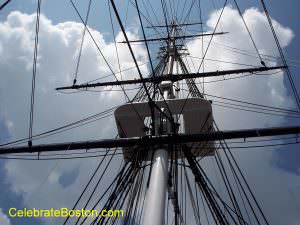USS Constitution Rigging