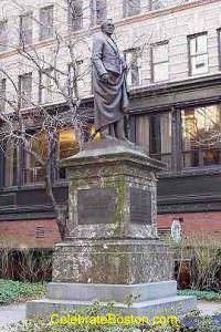 Josiah Quincy Statue, School Street