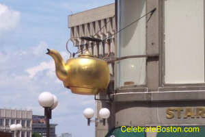 Giant Tea Kettle Boston
