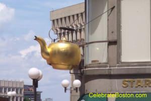 Giant Tea Kettle Boston