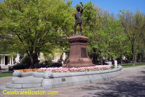 Leif Erikson Statue Boston