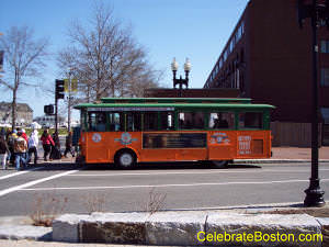 Old Town Trolley Tours Boston