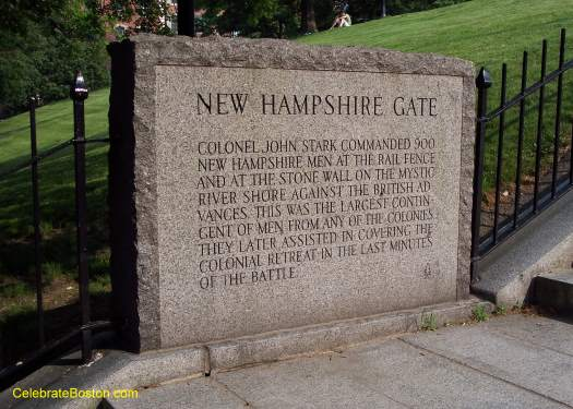 Bunker Hill Monument NH Gate
