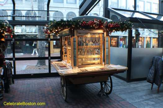 Faneuil Hall Jewelry Pushcart