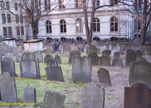 King's Chapel Burying Ground Looking East